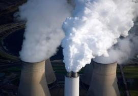 Carbon capture and storage is a priority for Britain if it is to meet its 205 climate goals, say the report's authors. Photograph: Paul White/Alamy Stock Photo