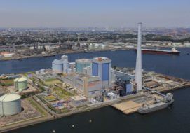 A high efficiency, low emissions HELE coal fired power plant near Isogo, Japan. (Credit: ABC)