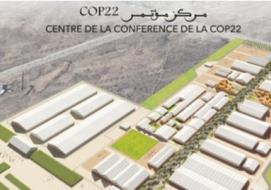 Illustration of the COP22 meeting facility. (artwork: UN)