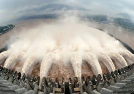 The Chinese spent $26bn to moderate the ecological impacts of the Three Gorges dam. Photograph: Reuters