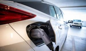 An electric vehicle may not have a tailpipe, but it still has a carbon footprint. (Ben Nelms/CBC)