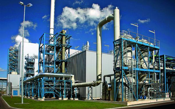 A carbon capture and storage plant in Germany. Credit: Vattenfall/flickr
