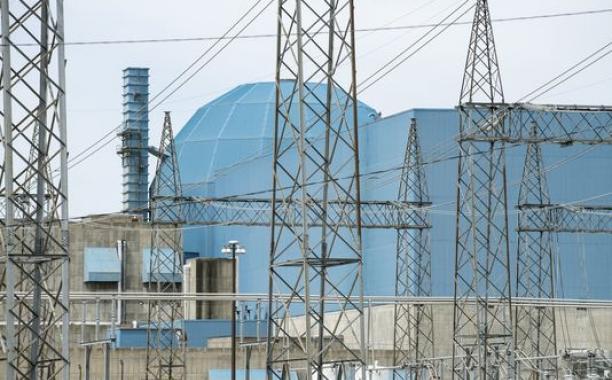 A nuclear plant in Clinton, Ill. (Photo: John Dixon, The (Champaign, Ill.) News-Gazette)