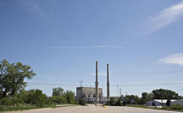 Faje worked at the NRG Energy Joliet Generating Station.  Photographer: Daniel Acker/Bloomberg