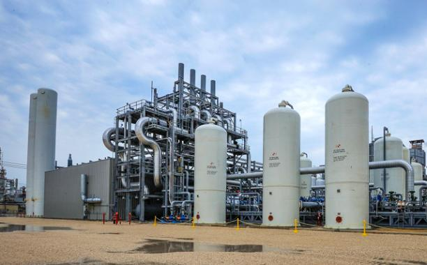 Air Products' carbon capture facility in Port Arthur, Texas.  Image courtesy of Air Products and Chemicals, Inc.