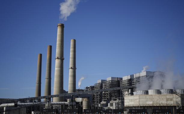 The NRG Energy Inc. WA Parish generating station in Thompsons, Texas, on Feb. 16, 2017. The plant is home to the Petra Nova Carbon Capture Project, a joint venture between NRG Energy, JX Nippon Oil, and Gas Exploration Corp. Photo: Luke Sharrett/Bloomberg via Getty Images