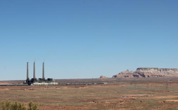The Navajo Generating Station is an important employer in rural northern Arizona. Credit: Carolyn Beeler