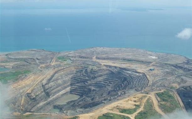 Panian Mine on Semirara Island, Caluya, Antique, Philippines By TJCERAME (Wikimapia) [CC BY-SA 3.0 (http://creativecommons.org/licenses/by-sa/3.0)], via Wikimedia Commons