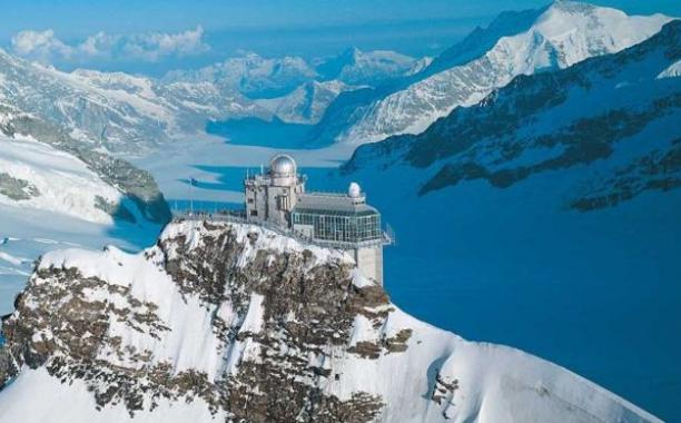 The air monitoring station at Jungfraujoch, in Switzerland, has detected the Italian emissions for nine years. /JUNGFRAUJOCH